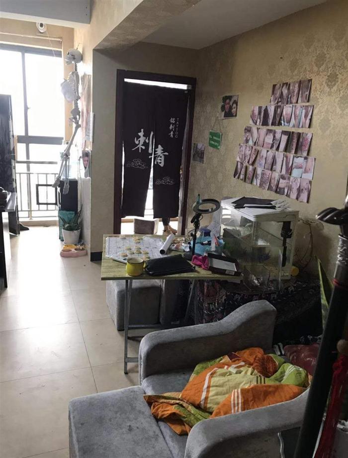 南昌纹身店环境