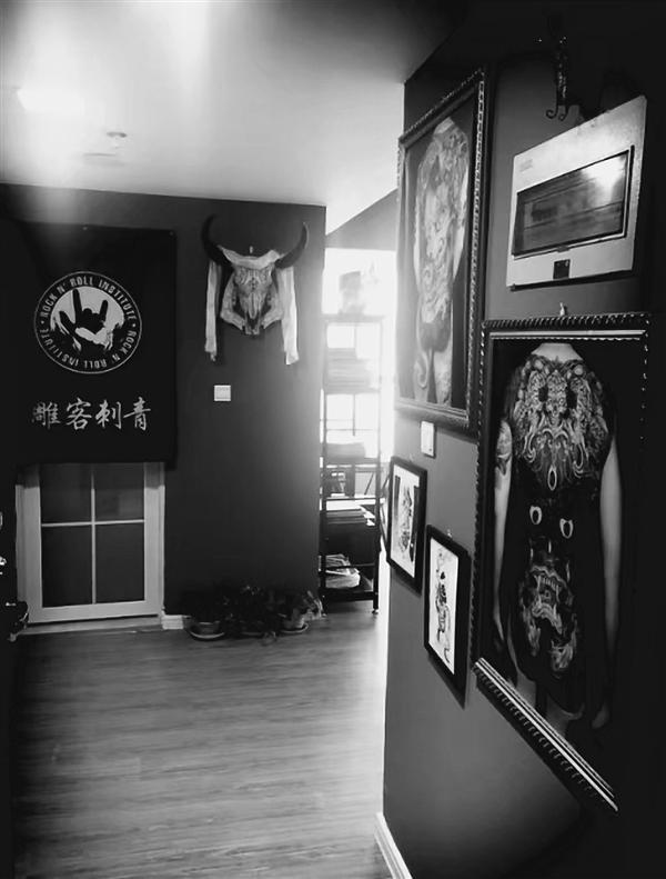 郑州雕客纹身工作