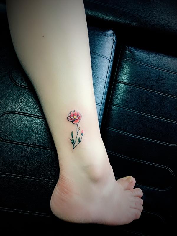 小清新纹身图案