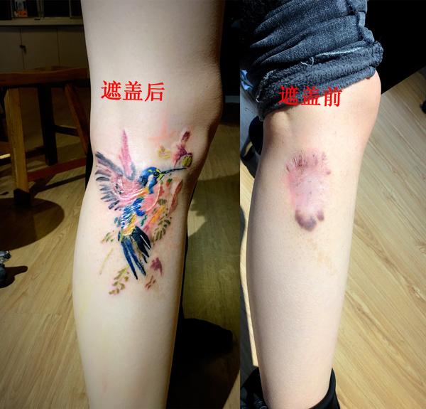疤痕遮盖纹身