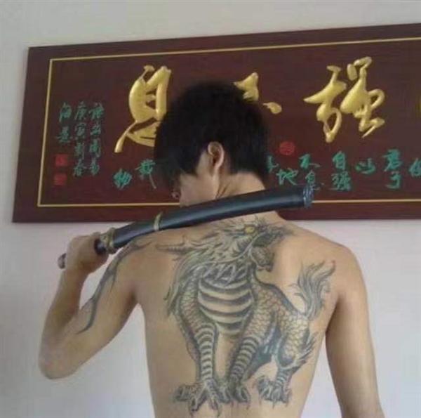 南昌五行刺青纹身店麒麟纹身