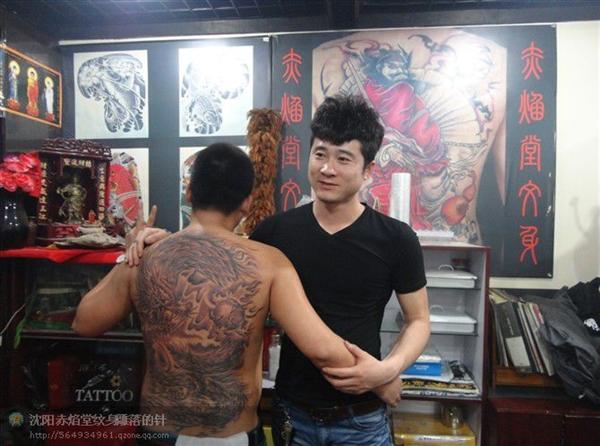 沈阳纹身师